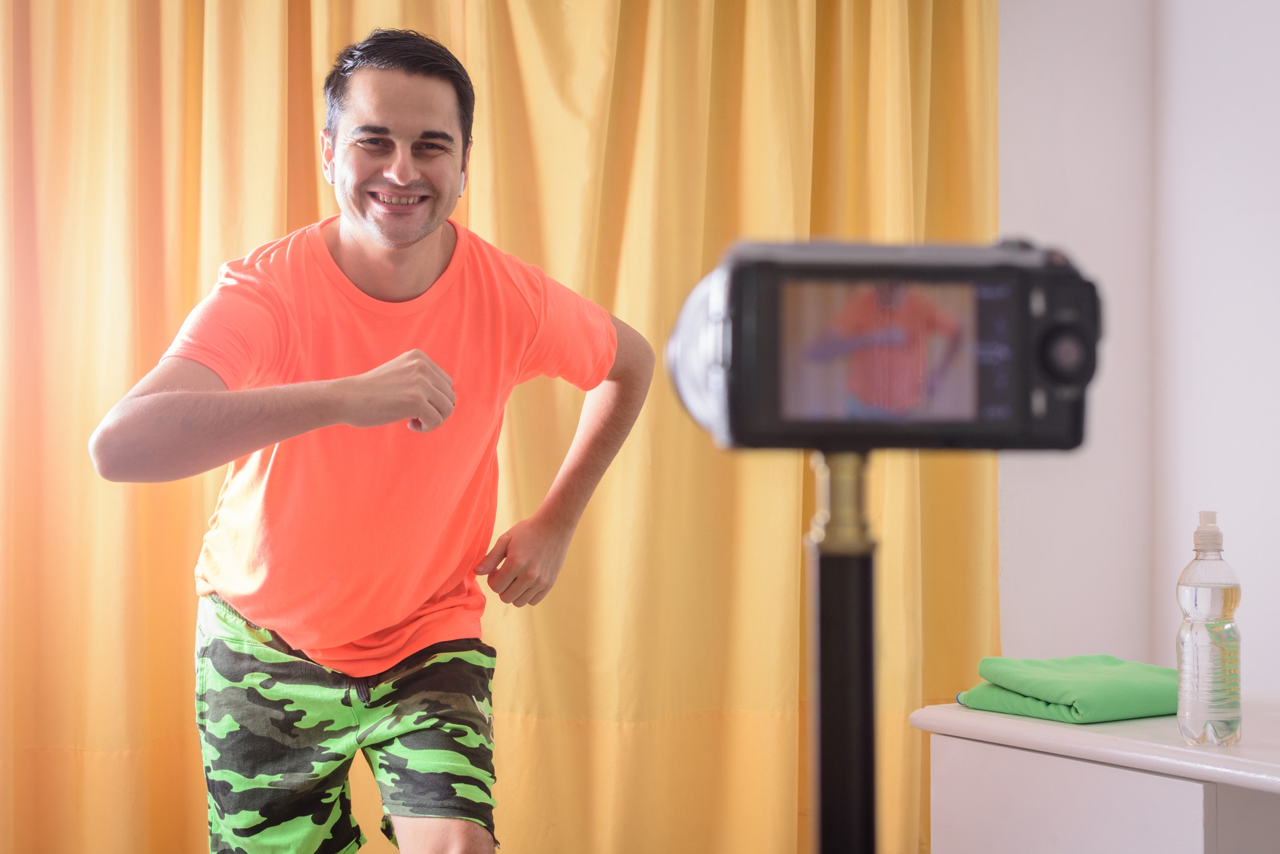 man-performing-in-front-of-camera